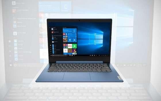 Il laptop Lenovo IdeaPad in offerta a 249 euro