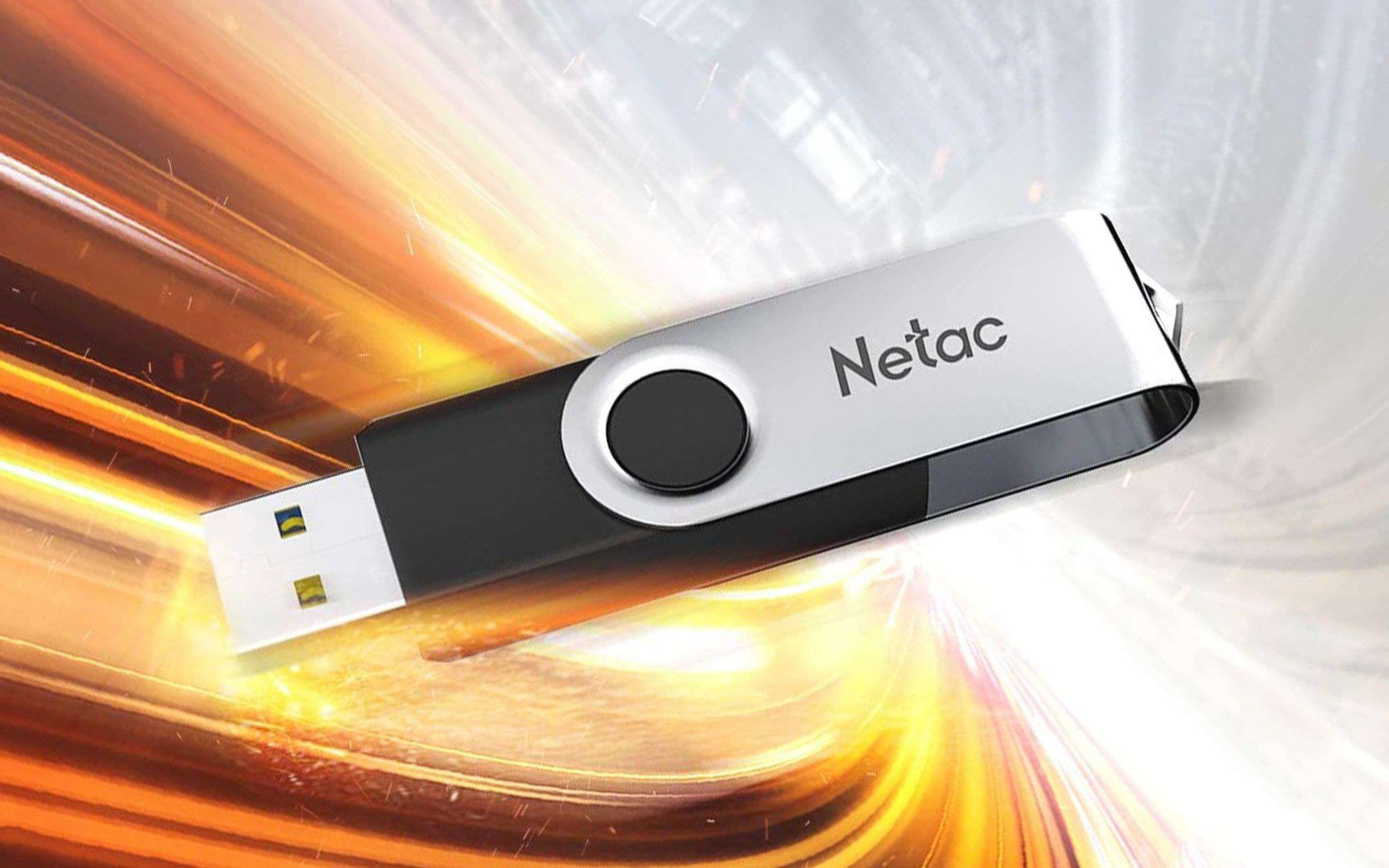 9.99 euros for the 64 GB USB 3 pendrive from Netac
