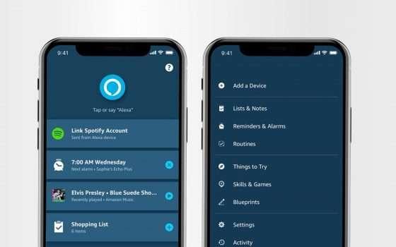 Alexa, nuova app per definire nuove priorità
