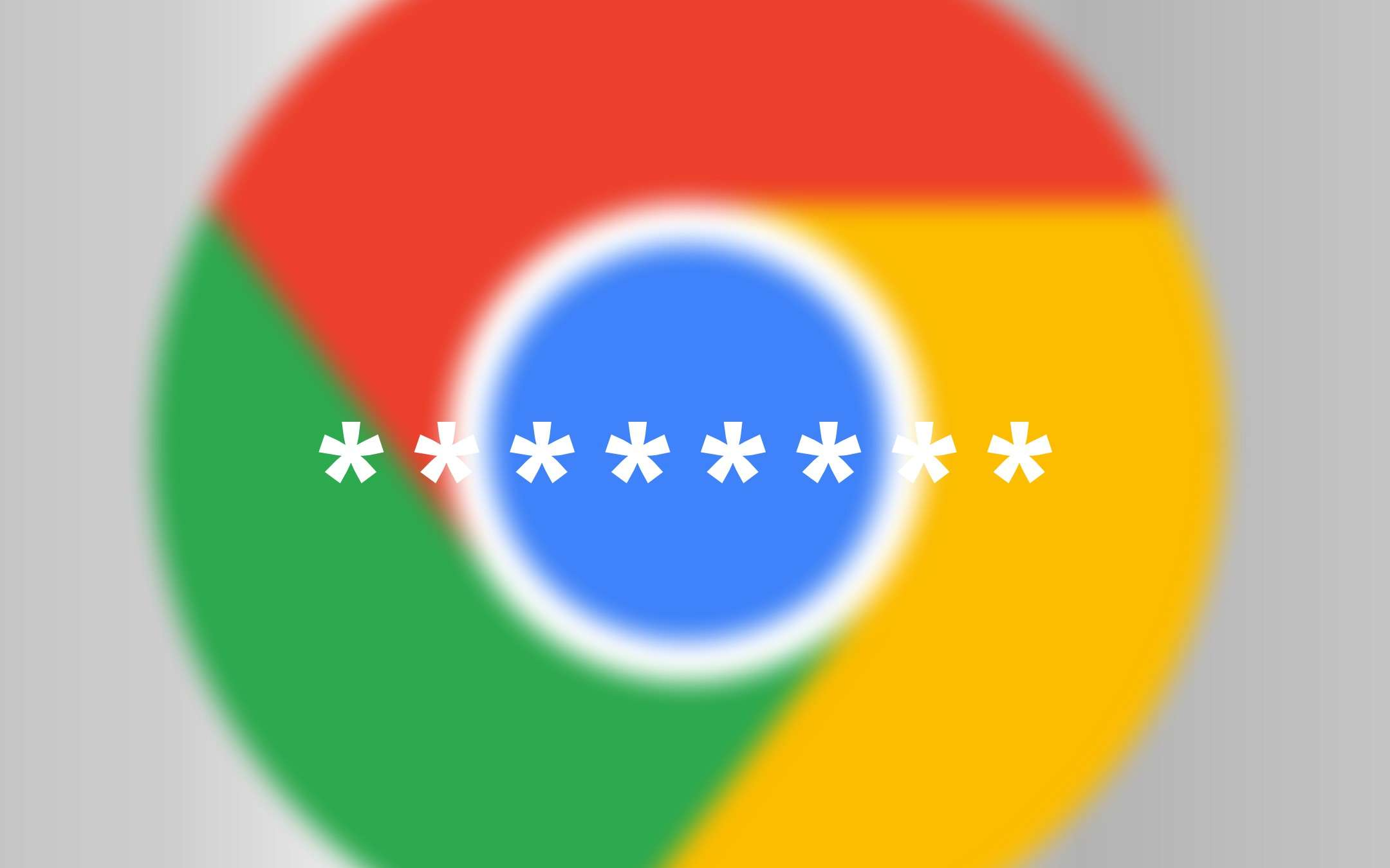 Chrome, integrated password control