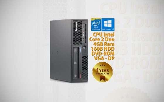 Lenovo ThinkCentre M58P ricondizionato a € 59,90