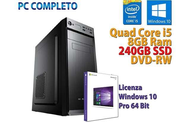 Il PC desktop assemblato in offerta oggi su eBay