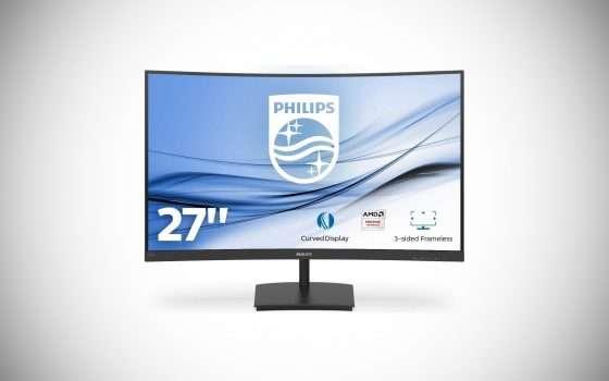 Il monitor curvo Philips da 27 pollici in offerta
