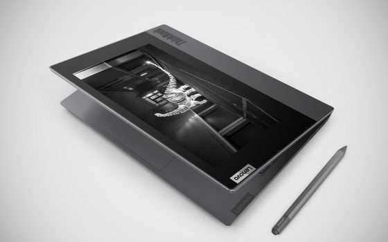 Lenovo ThinkBook Plus con e-ink arriva in Italia