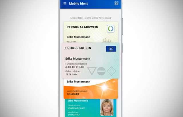 La carta d'identità elettronica in Germania negli smartphone Samsung