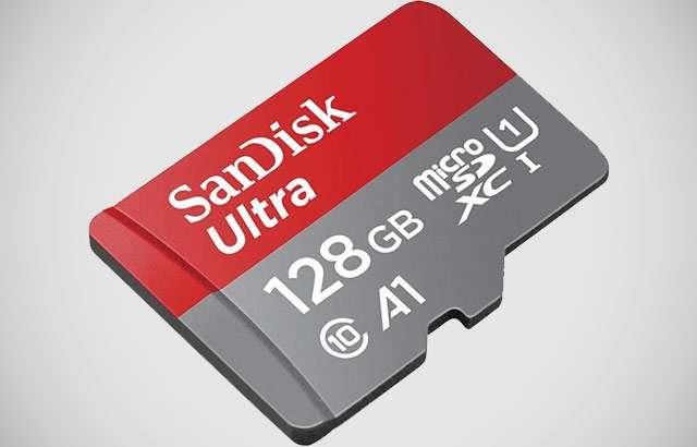 La scheda microSD di SanDisk da 128 GB in sconto su Amazon