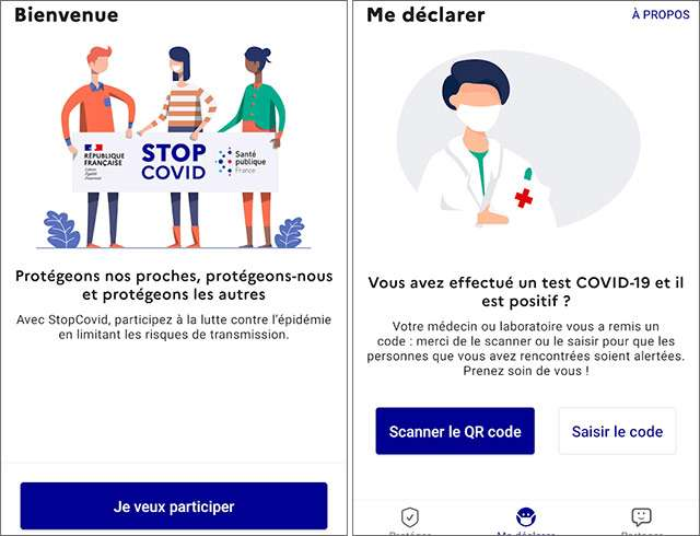 L'applicazione StopCovid per il contact tracing in Francia