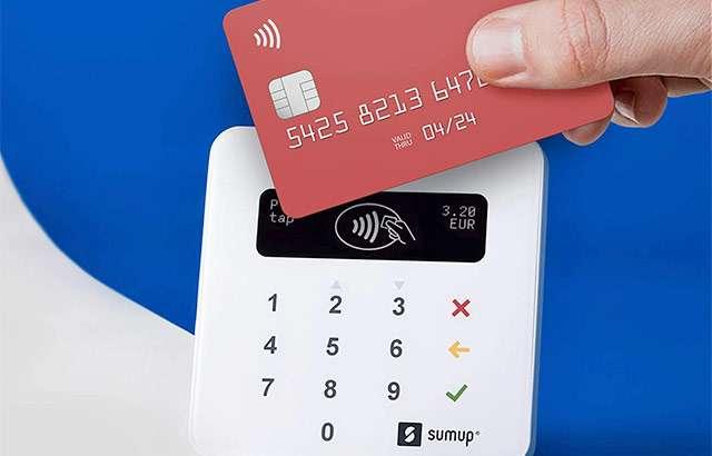 Il lettore SumUp Air per le carte di credito