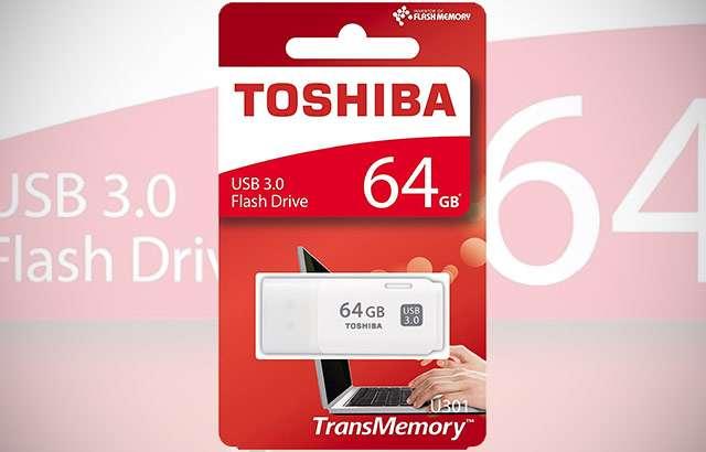La pendrive USB 3.0 di Toshiba da 64 GB