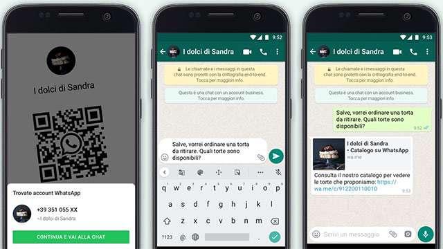 WhatsApp Business: nuove funzionalità