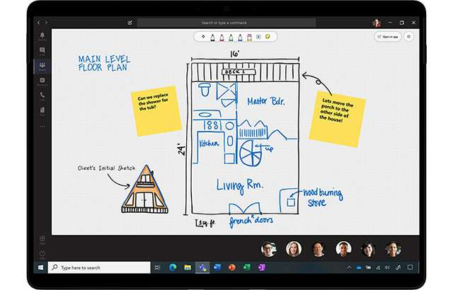 L'integrazione di Whiteboard in Microsoft Teams