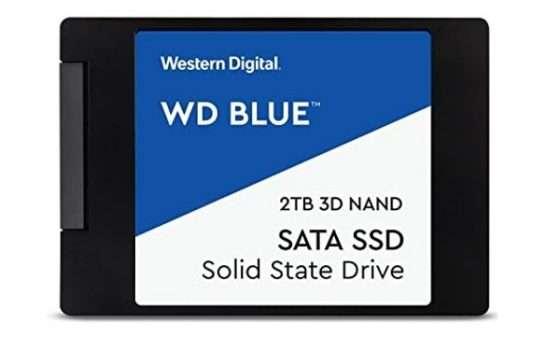 "wd blue 3d nand SSD 2.5"""
