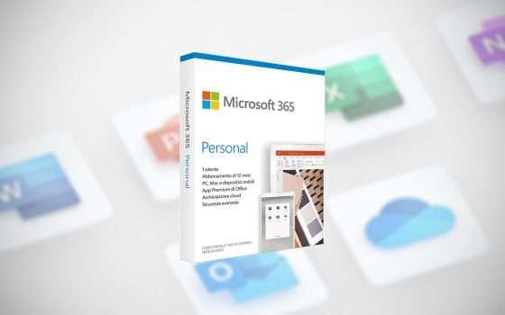 Un anno di Microsoft 365 a soli 39,99 euro