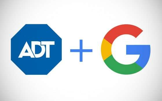 Google con ADT per la sicurezza della smart home