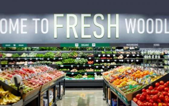 Amazon Fresh: anche il fresco, con carrello smart
