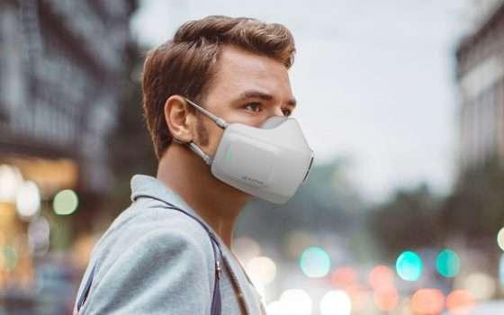 LG, la mascherina con filtro e ventilazione