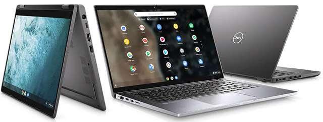 Il laptop Dell Latitude 7410 Chromebook Enterprise con Chrome OS