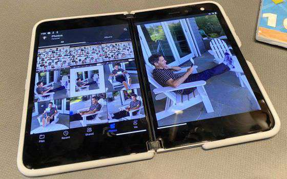 Eccolo, il Surface Duo di Microsoft, dal vivo