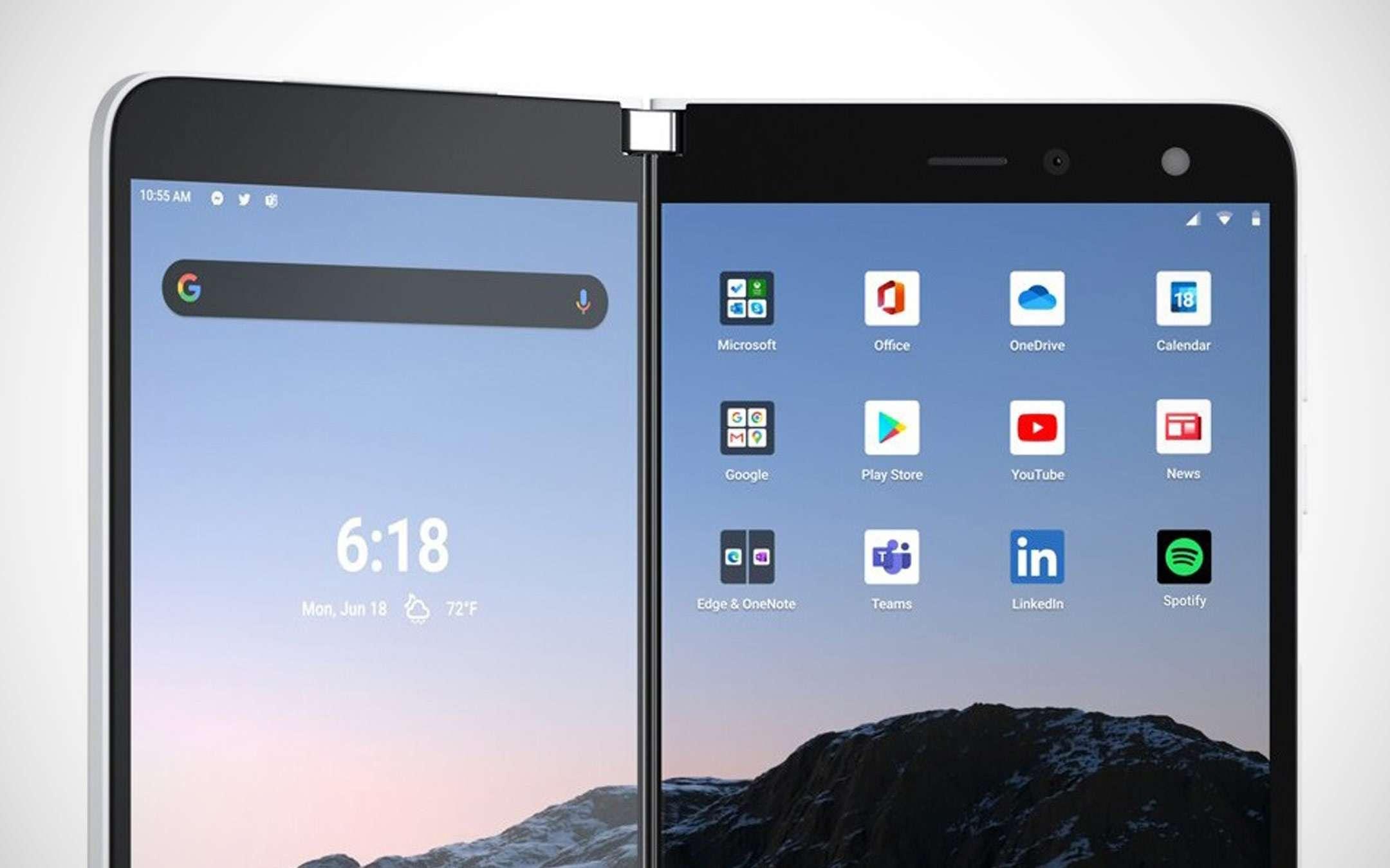 Surface Duo, leak