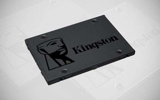 Solo 29,99 euro per la SSD Kingston da 240 GB