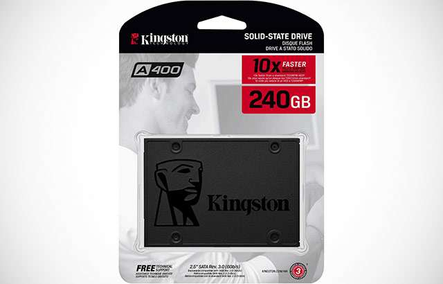 La SSD di Kingston da 240 GB