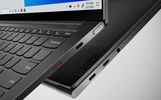 Lenovo presenta i nuovi Yoga Slim 9i e Yoga 9i