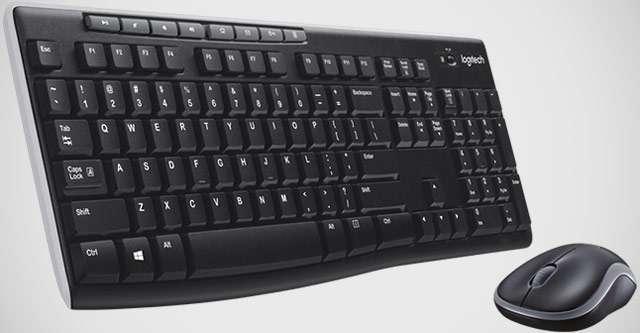 Logitech MK270: mouse e tastiera wireless