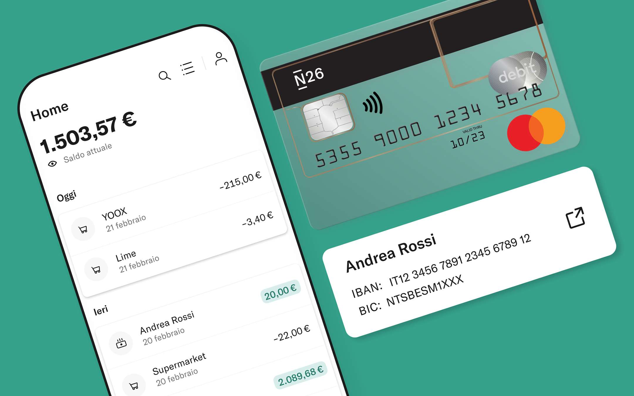 N26: foreign wire transfers in over 30 currencies