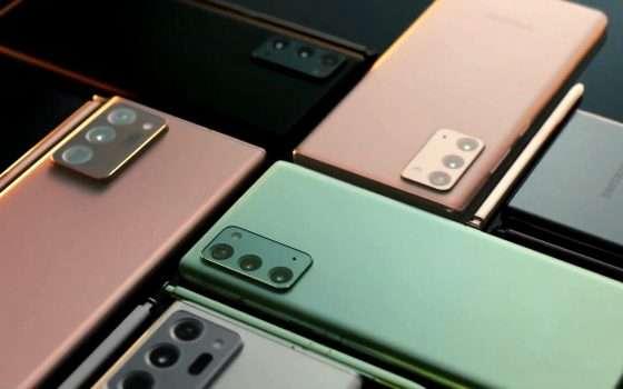Samsung Galaxy Note20: c'era una volta il phablet