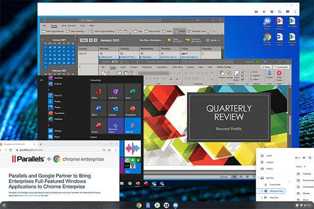I software di Windows su Chrome OS grazie a Parallels