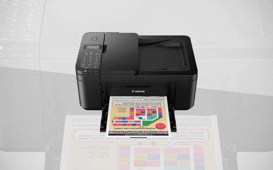 La stampante Canon Pixma TR4550 in offerta su MW