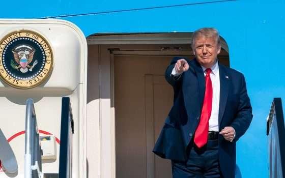 Trump: 'Bambini immuni a COVID-19', via il post