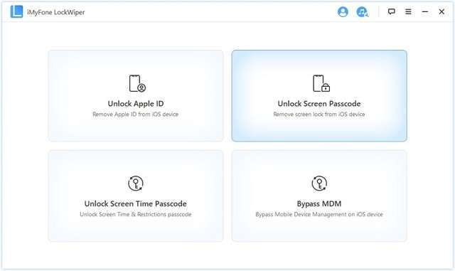Unlock screen passcode