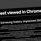 Galaxy Unpacked: meglio con Google Chrome