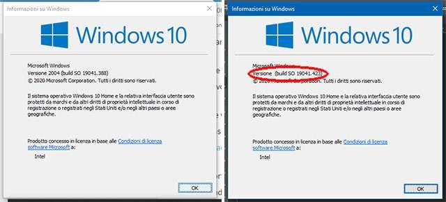 Windows 10: versione sistema operativo