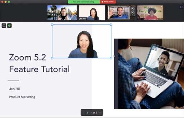 Le presentazioni di PowerPoint e Keynote come background virtuale nelle videochiamate su Zoom