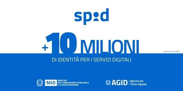 10 milioni di SPID