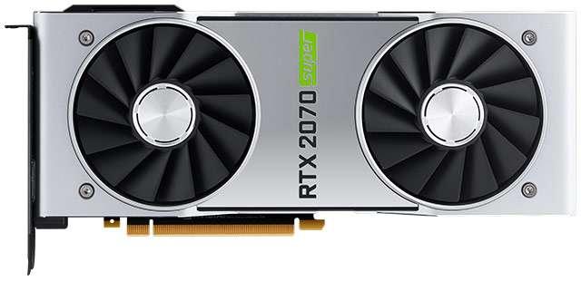 La scheda video NVIDIA GeForce RTX 2070 SUPER