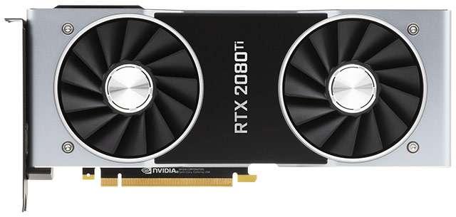 La scheda video NVIDIA GeForce RTX 2080 Ti