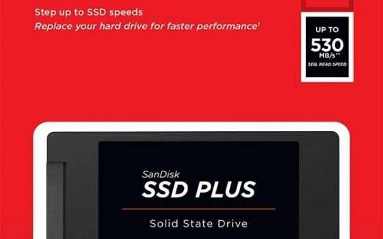 SSD San Disk Plus - 1