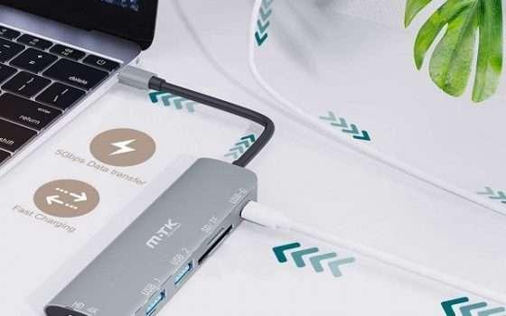 HUB USB C MTK - 1