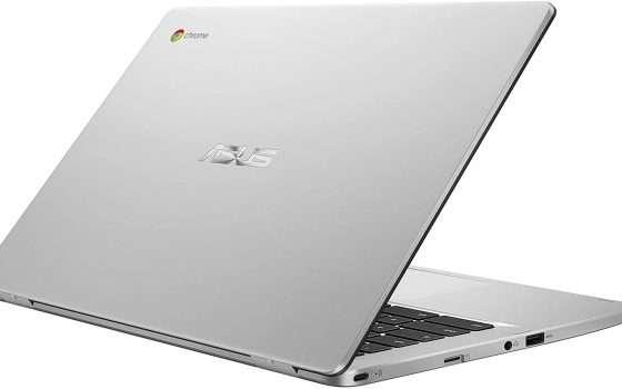 Asus Chromebook C423: 50€ di sconto solo per oggi