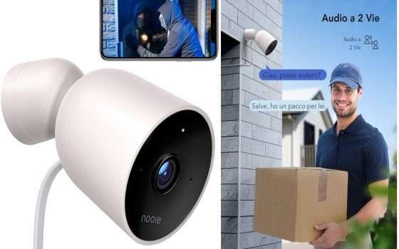 Telecamera esterna compatibile con Alexa in offerta