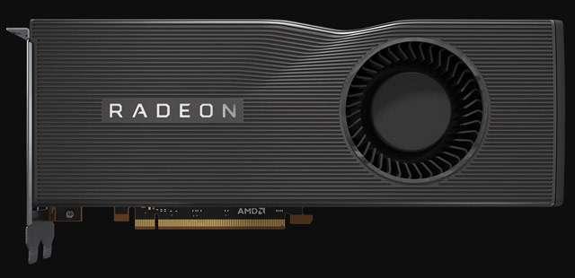 La scheda video AMD Radeon RX 5700 XT