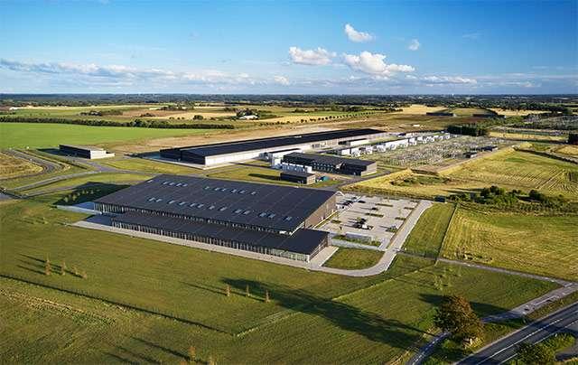 Il data center di Apple a Viborg, in Danimarca