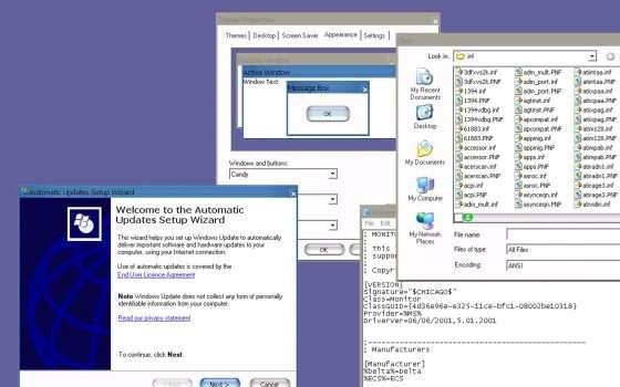 Windows XP avrebbe potuto assomigliare a Mac OS