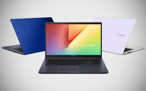 ASUS: tutti i nuovi laptop con Intel Tiger Lake