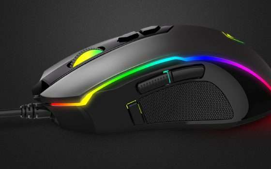 Mouse da gaming Pictek: in offerta a soli 17 euro