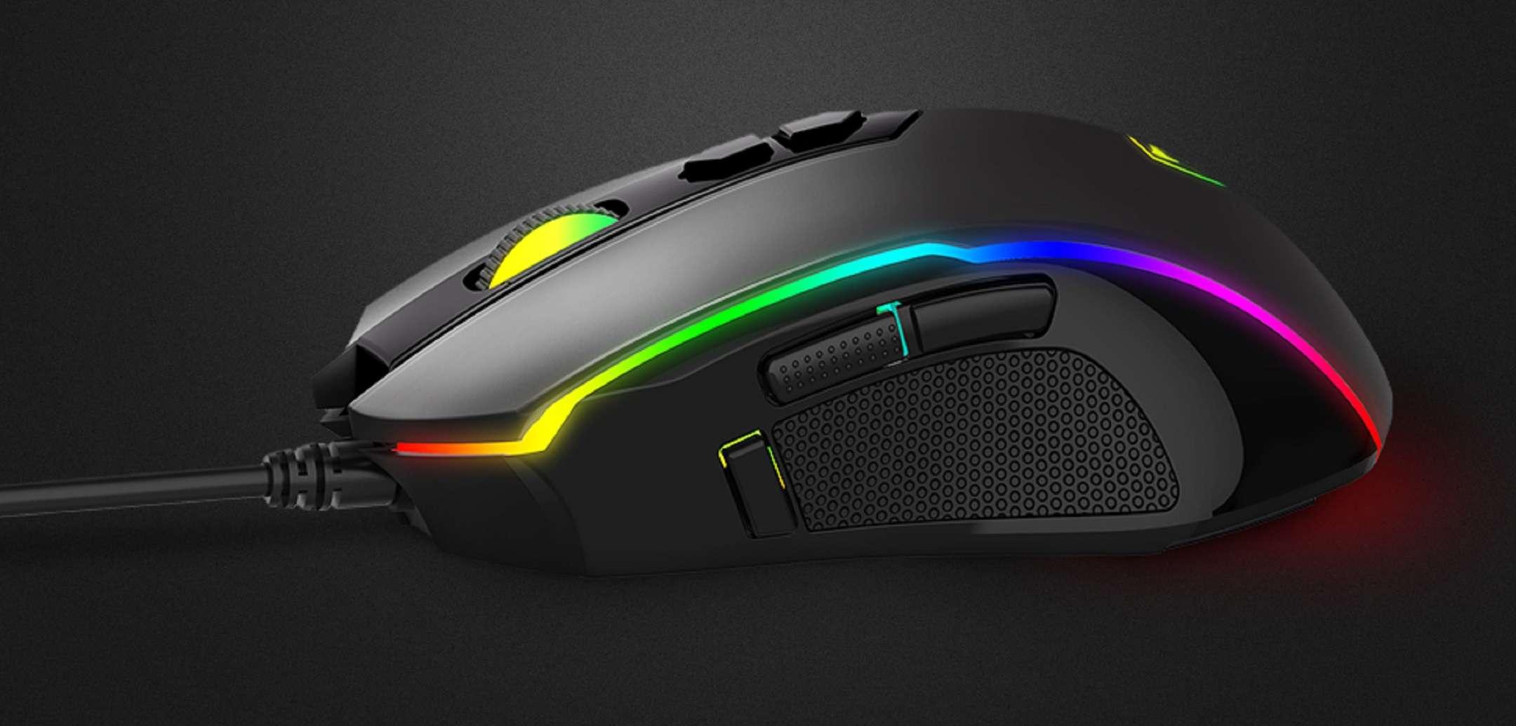 Pictek gaming mouse: on offer for only 17 euros