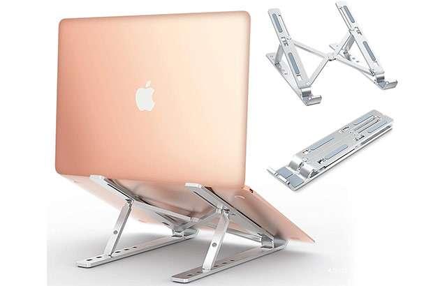 Il supporto in alluminio per laptop di Babacom